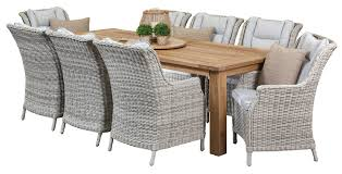 teak outdoor furniture perth. bianco 8 seater recycled teak table, outdoor dining furniture, settings, furniture perth i