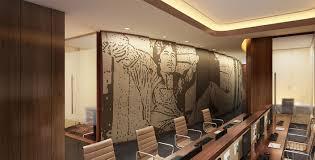 award winning office design. Studio HBA | Hospitality Designer Best Interior Design Hotel 5-star Designers Award Winning Hirsch Bedner Office E