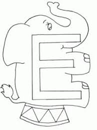 Small Picture 8 best Letter E Coloring Pages images on Pinterest Color posters
