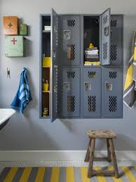 Cool Concepts For Your Home California Houses Lockers And Hgtv - Bathroom locker