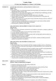 Organizational Development Consultant Resume Samples Velvet Jobs