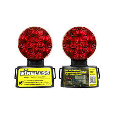 towing lights wiring towing accessories towing trailers blazer led wireless magnetic towing light kit