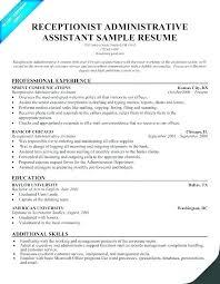 Admin Job Profile Resume Template Job Description Template For Administrative
