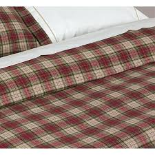 tartan bedding sets red and beige tartan plaid brushed cotton duvet cover tartan plaid bed sheets tartan bedding