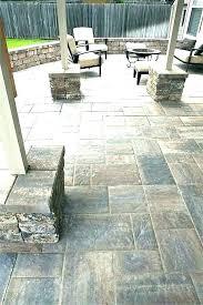 patio floor tiles outdoor non slip flooring stunning on rubber home depot