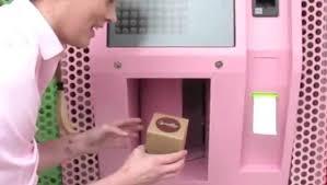 Sprinkles Cupcakes Vending Machine Locations Interesting ATM Lights Cupcake Fever CCTV News CNTV English