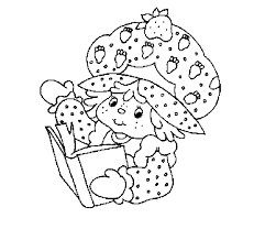 afunk strawberry shortcake coloring books
