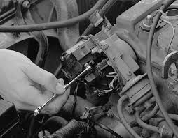 chevrolet truck k ton p u wd l tbi ohv cyl 13 remove the 2 nuts and disconnect the wires from the ignition coil terminals