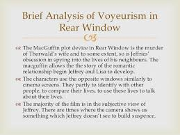 rear window director 7 brief analysis of voyeurism in rear window