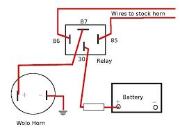 basic horn wiring diagram wiring diagram for you • horn wiring kzrider forum kzrider kz z1 z motorcycle rh kzrider com vw kit car wiring diagram basic wiring diagram air horn