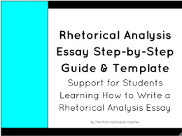 rhetorical analysis essay templates by the practical english teacher rhetorical analysis essay templates