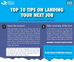 top tips on landing your next job