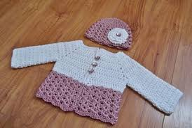 Free Crochet Baby Sweater Patterns Gorgeous Ravelry Button Me Up Baby Sweater Hat Pattern By Carlinda Lewis