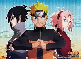 Naruto Shippuden - Naruto, Sasuke & Sakura Key Art Fabric Poster ...