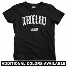 Details About Wroclaw Poland Kids T Shirt Baby Toddler Youth Tee Polska Polish Polonia Pl
