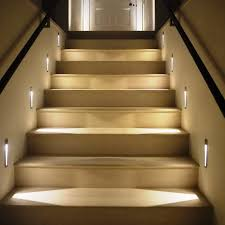 led indoor stair lights