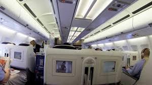 Air France A340 Business Class