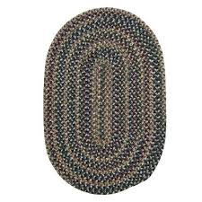 oval braided area rug 11x14 rugs wool n