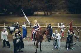 knights of the round table jeremia escueta mia bedivere sage gt sage merlin cosplay photo cure worldcosplay