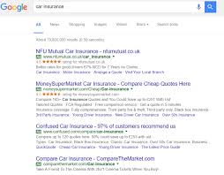 expanded text ads best practice guide search laboratory root car insurance screenshot