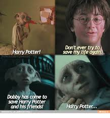 potter harry and saved harry potter theperksof being aweasley dobby has come