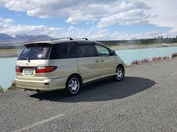 Toyota Estima with Swing Out Seat