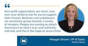 Leveraging Stewardship For Kingdom Expansion | Meagan Brown of MortarStone  | Missional Marketing