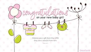 Babygirl Cards Free New Baby Girl Ecard Email Free Personalized New Baby