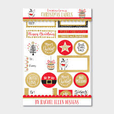 Luxurious Christmas Labels