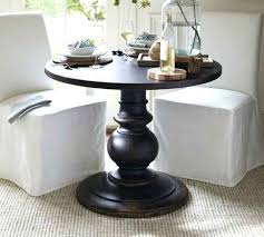 Small Pedestal Table Black Small Round Pedestal Table Small