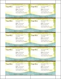 Business Card Templates Word Business Card Templates Word Business