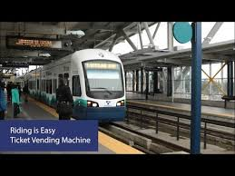 How To Use Ticket Vending Machine In Railway Station Gorgeous Sound Transit How To Use A Ticket Vending Machine YouTube