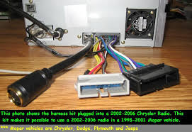 chrysler jeep dodge radio wiring harness adapter old to new 7 chrysler jeep dodge radio wiring harness adapter old to new 7 22pin cd cngr adap