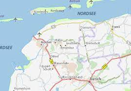 It is situated approximately 10 km east of norden, and 15 km northwest of aurich. Michelin Grossheide Map Viamichelin