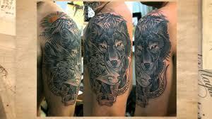 волк и волчица арт кинозавр