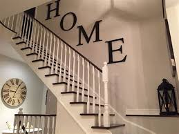stairway wall decorating ideas page 1