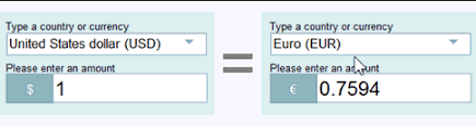 Use Google And Yahoo To Check Currency Exchange Rates