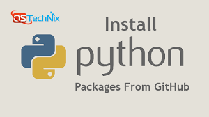 install python packages from github on
