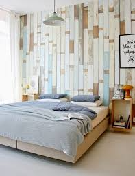 bedroom wallpaper decorating ideas. Interesting Wallpaper Wallpaper In Wood Finish Fair Bedroom Decorating Ideas With A