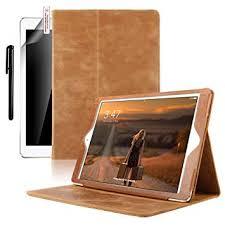 ipad mini 4 case boriyuan genuine leather smart case cover ipad mini 4 folio stand