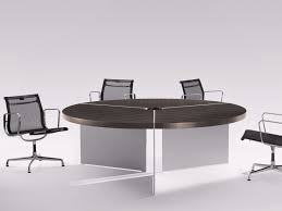 round meeting table with cable management size round meeting table by renz
