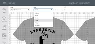 Htv Sizing Chart How To Correctly Size Your T Shirt Design For Different Size