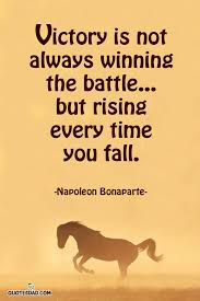Winning Quotes New Victory Is Not Always Winning The Napoleon Bonaparte Quotes