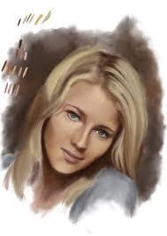 Digital Portrait Painting Digital Portrait Painting Wip Part 3 Steemit