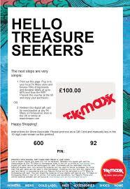 tk ma homesense gift card 100 value use in or