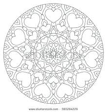 Symmetrical Coloring Pages Printable Medallion Coloring Pages Great