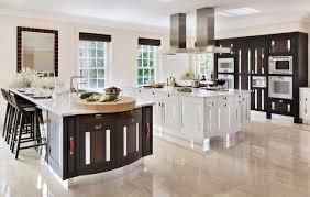 Black Kitchen Laminate Flooring Modern Kitchen Island Table Black Barstools Plain Minimalist