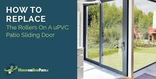 how to replace sliding patio door rollers