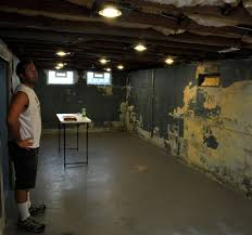 best basement lighting. Best Basement Lighting For Your Design Ideas: Traditional Unfinished Recessed Ceiling N