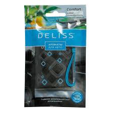"<b>Подвесное ароматическое саше</b> для автомобиля <b>Deliss</b> ""Comfort ..."
